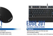 Edge 101 et Edge 201 : Hori lance une nouvelle gamme de périphériques pour gamers PC [Test]