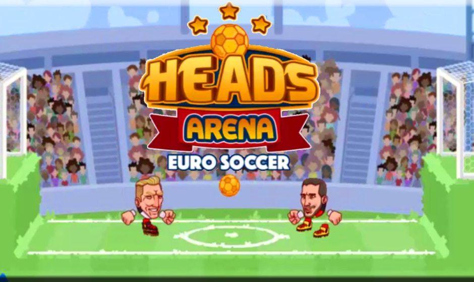 Heads Arena: Euro Soccer de foot sympa si vous avez du temps à tuer en attendant les matchs de la coupe d'Europe